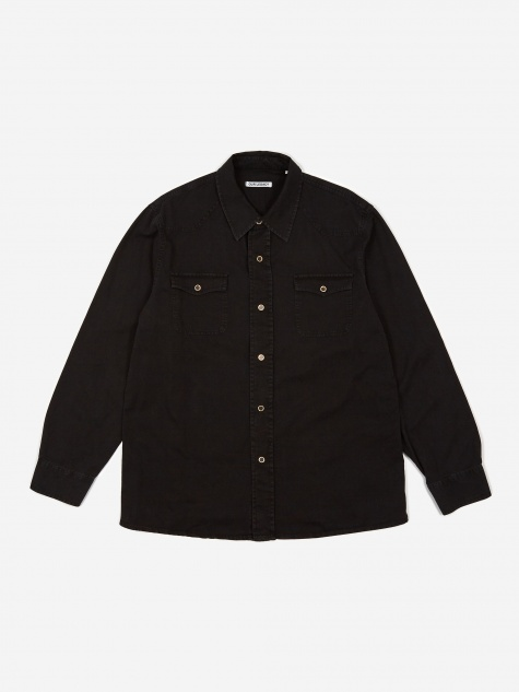 New Frontier Denim Shirt - Black