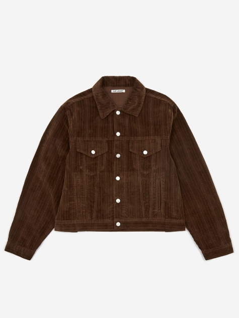 Crush Corduroy Jacket - Chocolate Brown