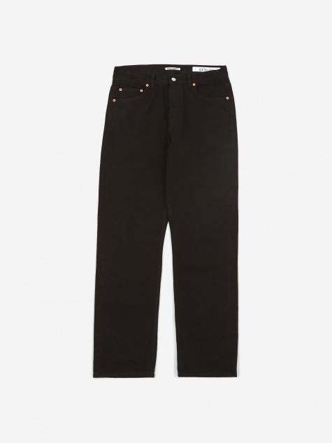 Second Cut Jean - Black Selvedge