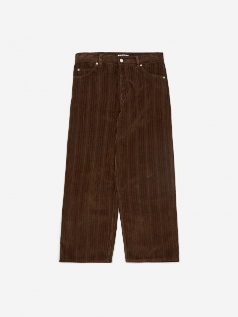 Vast Cut Corduroy Trouser - Chocolate Brown