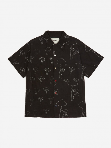 Shore Shirt - Black Mush