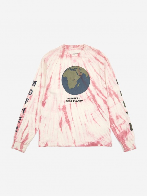 STORY mfg. Grateful Longsleeve T-Shirt - Raspberry Ripple
