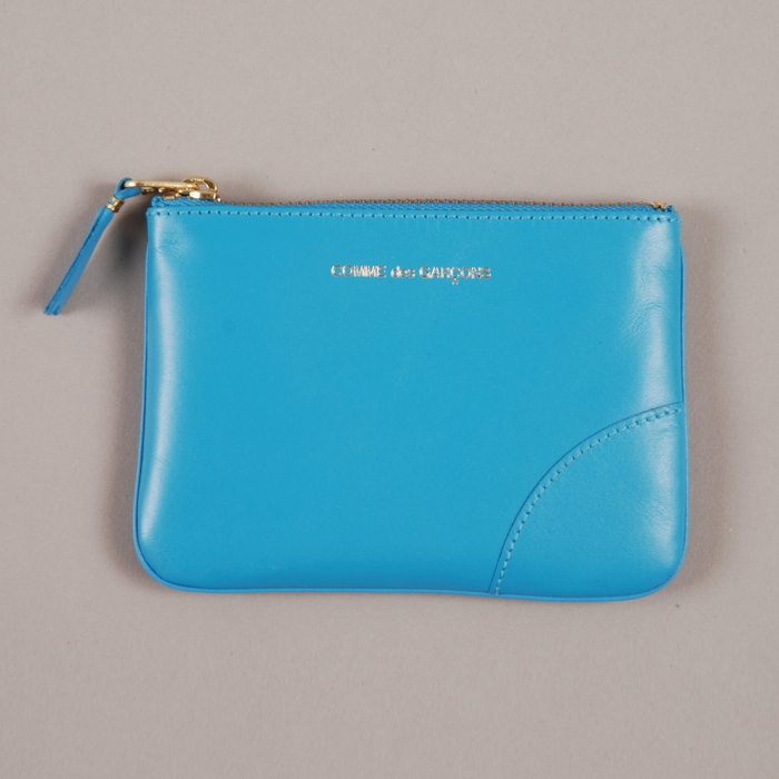 Comme des Garcons Wallets COMME des GARCONS Wallet Classic Leather Line - Blue (Image 1)
