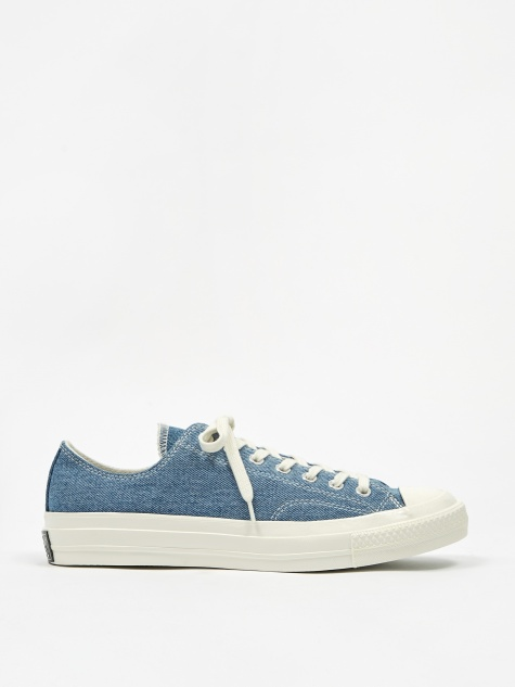 Chuck Taylor All Star 70 Renew Ox - Medium Denim/Egret