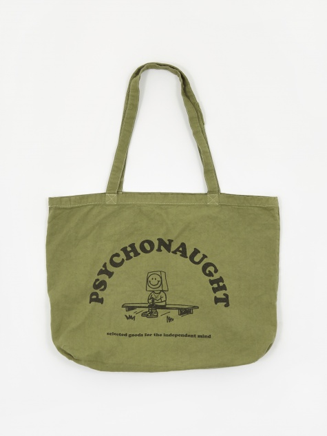 Psychonaught Tote Bag - Olive