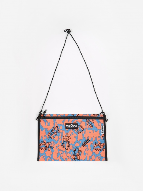 Wild Things x Gasius x Fabrick Flat Shoulder Bag L - Multi