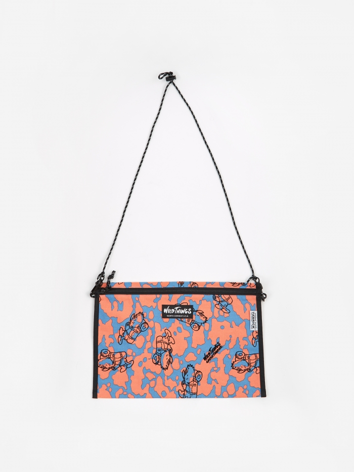 Wild Thing x Gasius x Fabrick Wild Things x Gasius x Fabrick Flat Shoulder Bag L - Multi (Image 1)