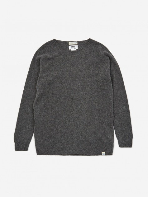 Lambswool Silk Cashmere Jumper - Grey