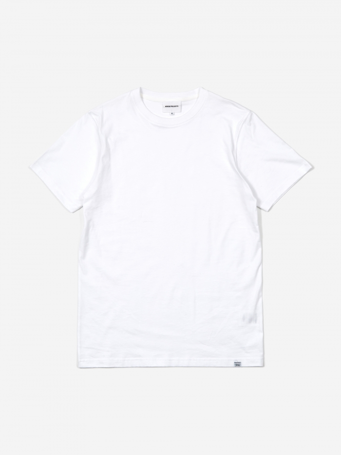 Norse Projects Niels Standard SS T-Shirt - White (Image 1)