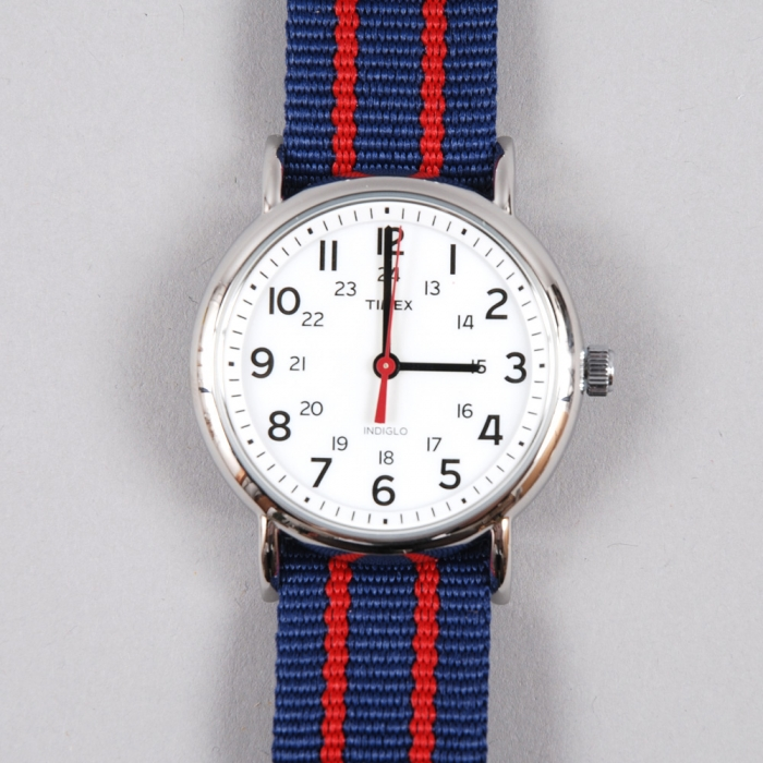 Timex Weekender Watch - Red/Blue (Image 1)