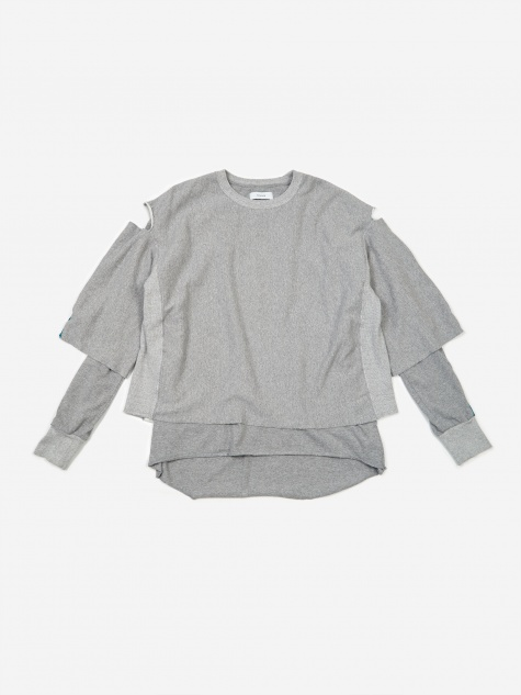 Facestasm Crewneck Sweatshirt - Grey