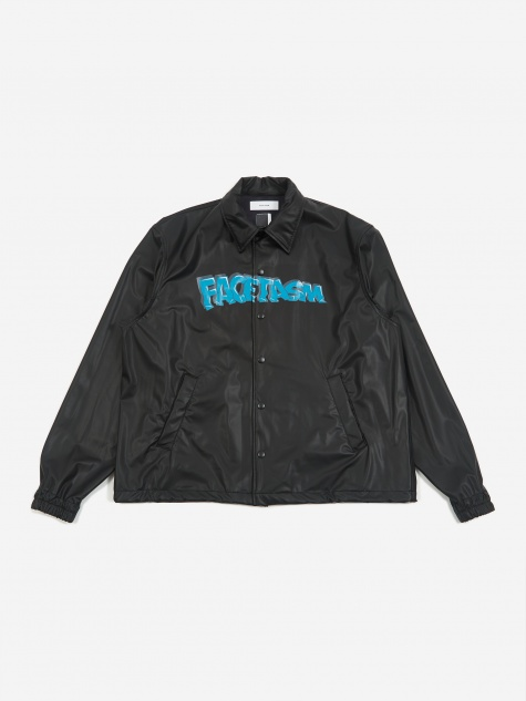 Facestasm Coach Jacket - Black