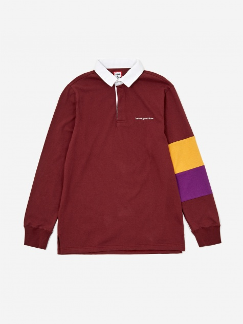 Rugby Shirt - Maroon