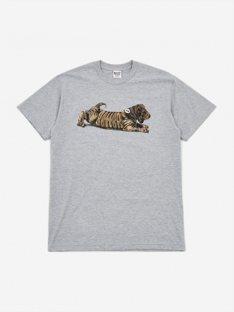 Dog T-Shirt - Heather Grey