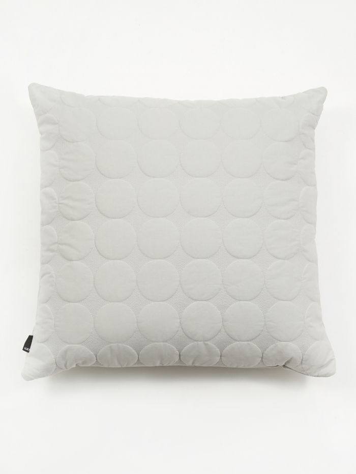 HAY Mega Dot Cushion - Light Grey (Image 1)