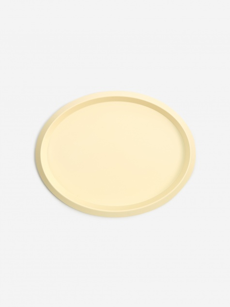 Ellipse Tray S - Light Yellow