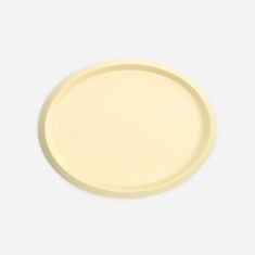 HAY Ellipse Tray S - Light Yellow