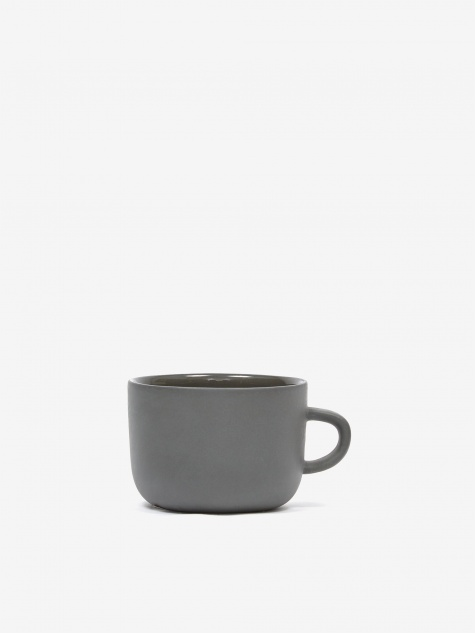 Tea Cup - Dark Grey