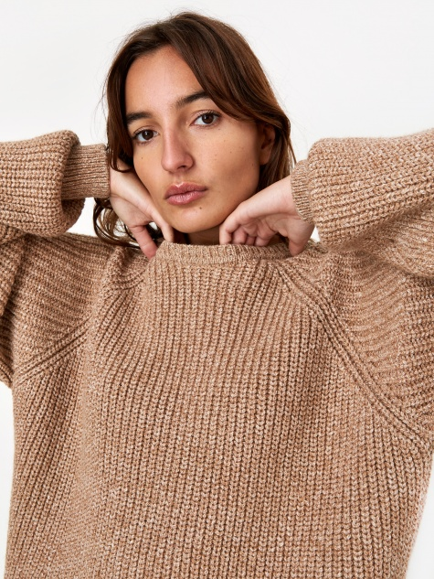 Avery Knit Jumper - Camel