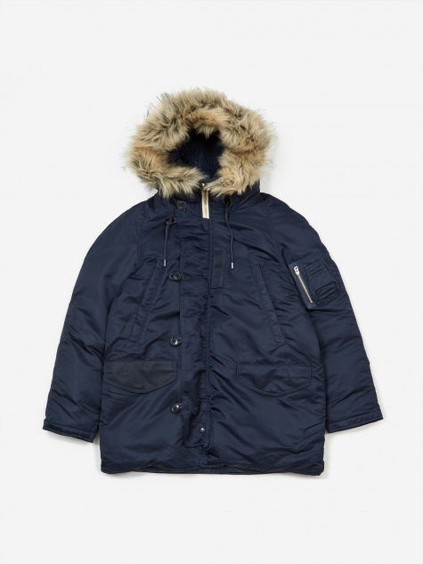 Harbour Down Coat - Navy