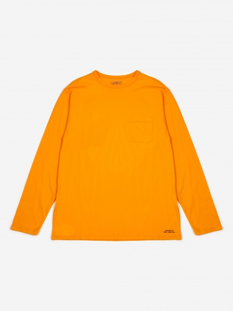 James Pima Longsleeve T-Shirt - Saffron