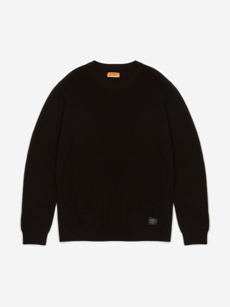 Everyday Classic Jumper - Black