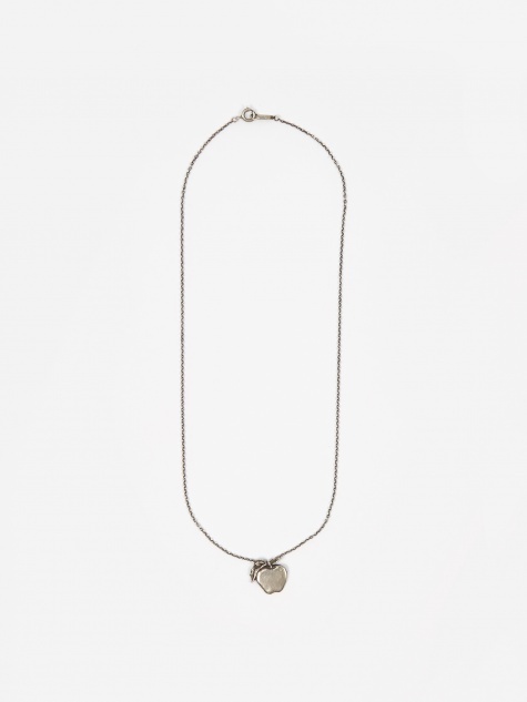 Apple Necklace (UCV8N02-1) - Silver