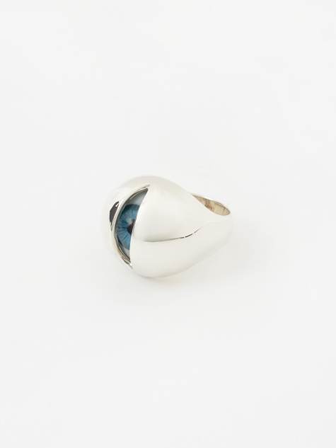 Eyeball Ring (UCX4R01-1) - Silver