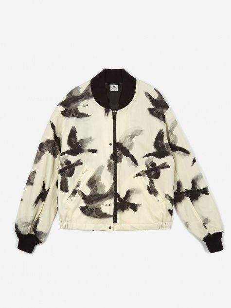 Crow Pattern Jacket - Wu -Pattern