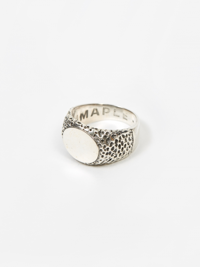 Maple Nugget Ring - Silver (Image 1)