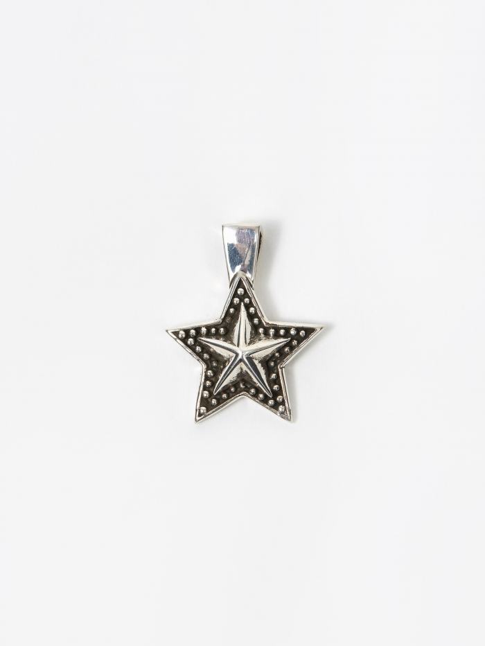 Maple Star Pendant - Silver (Image 1)