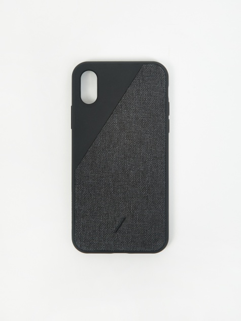 Clic Canvas iPhone Xs Case - Black