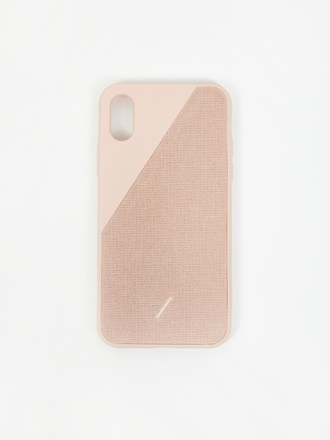 Clic Canvas iPhone Xs Case - Rose