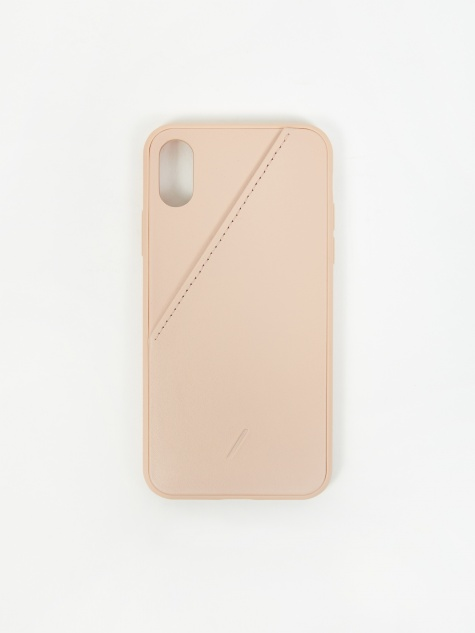Clic Card iPhone Xs Case - Rose