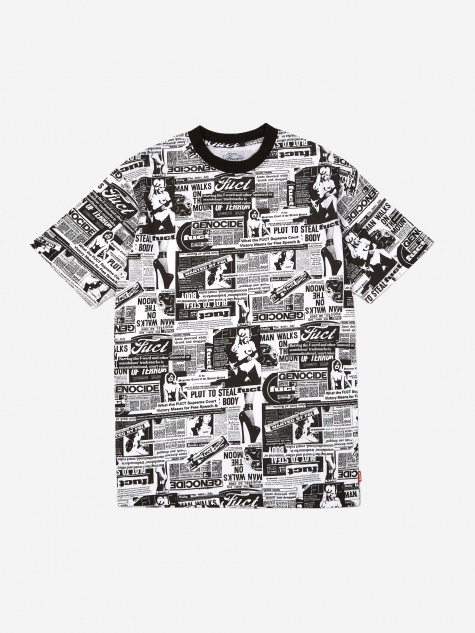 Headlines Shortsleeve T-Shirt - Black