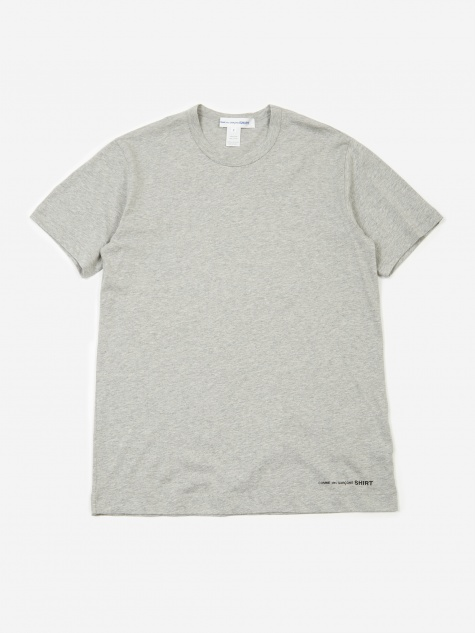Front Logo Shortsleeve T-Shirt - Grey