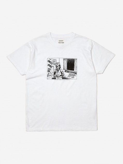 x TeeJerker x Image Club Ltd T-shirt - White