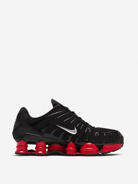 x Skepta Shox TL - Black/Metallic/University Red