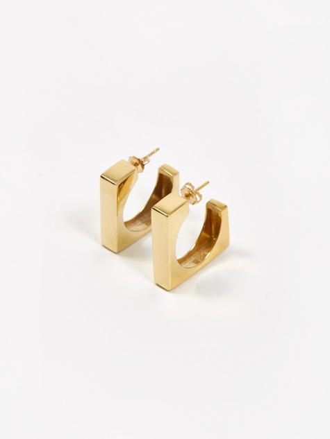 Isa Earrings - Gold Vermeil