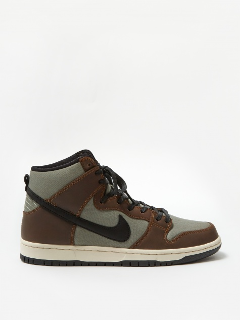 SB Dunk High Pro - Baroque Brown/Black/Jade Horizon