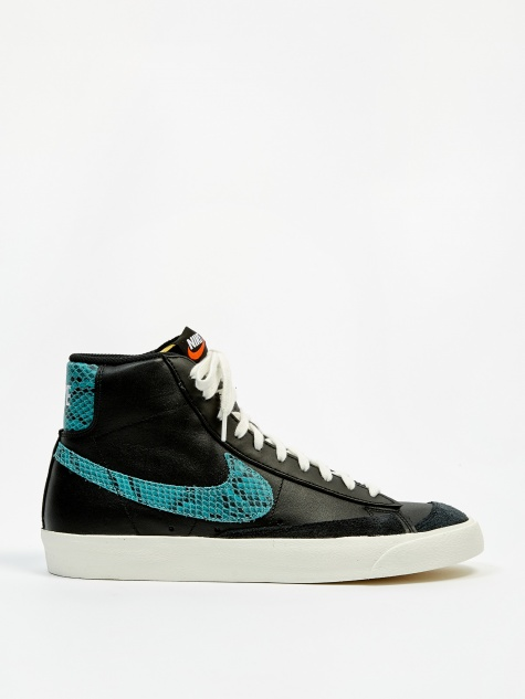 Blazer Mid 77 Vintage - Black/Light Aqua/Sail
