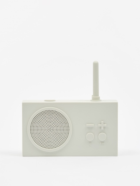 Tykho Wireless 3 FM Radio & Bluetooth Speaker - Off White