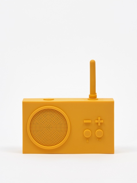 Tykho Wireless 3 FM Radio & Bluetooth Speaker - Yellow