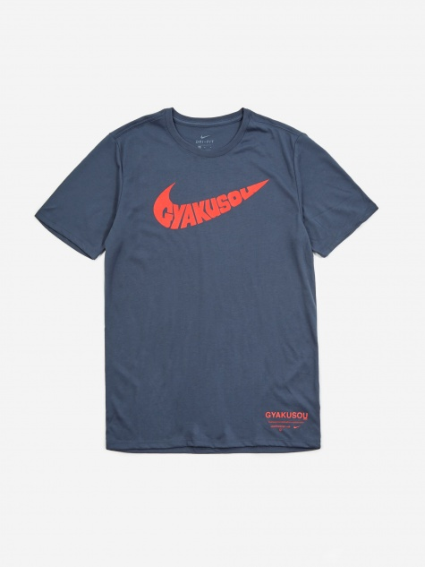 x Gyakusou NRG T-Shirt - Thunder Blue/Sport Red