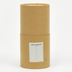 Ferm Living Uno Candles Set of 16 - Light Grey