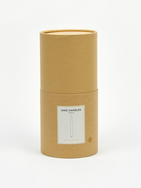 Uno Candles Set of 16 - Beige