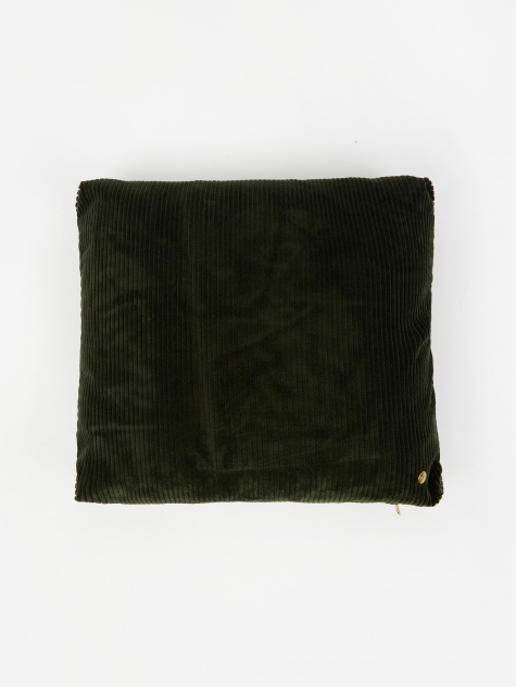 Corduroy Cushion 45 x 45 - Green