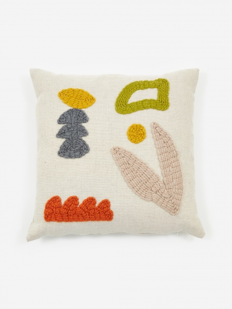Neutral Garden Cushion - 45 x 45cm