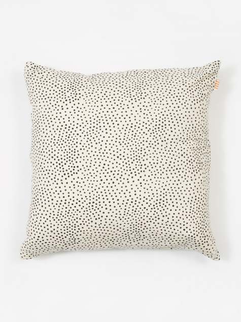 Fleck Cushion 50x50 - White/Black