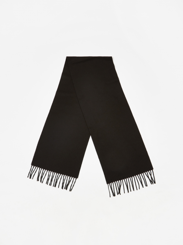 Norse Projects Lambswool Scarf - Black (Image 1)